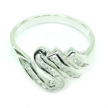 Ring Silver Ag 925/1000 - typ005