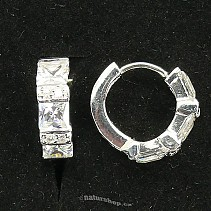 Ag 925/1000 silver earrings typ094