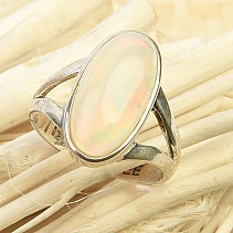 Ring with precious opal Ag 925/1000 5,3g (size 59)