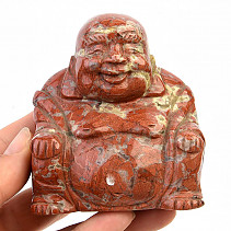 Buddha from red jasper 403g