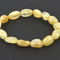 Citrine smooth bracelet