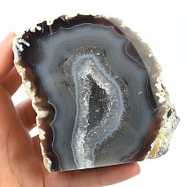 Natural agate geode (Brazil) 681g