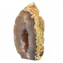 Agate geode from Brazil 693g