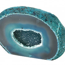 Agate geode - blue color 710g