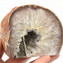 Agate natural geode (Brazil) 620g