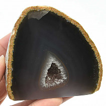 Agate natural geode (Brazil) 376g