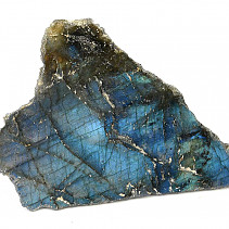 Polished and natural stone labradorite 121g
