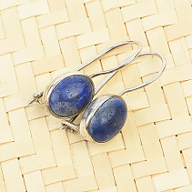 Sodalite dangling earrings Ag 925/1000