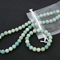 Calcite green gift ball set 10mm (52cm + uni)