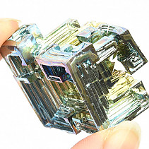 Bismuth colored crystal 36.8g