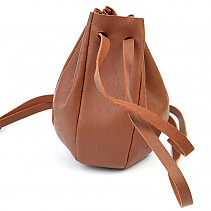 Rusty darker leather bag
