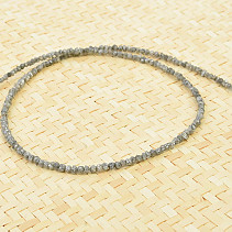 Necklace made of natural diamond Ag clasp (41 - 45cm)