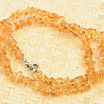 Citrine necklace shapes Q EXTRA