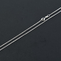 Ag 925/1000 silver chain 45 cm approx 2.2g