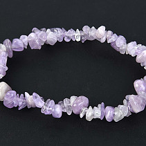 Amethyst light-chopped shapes