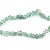 Apatite bracelet chopped shapes