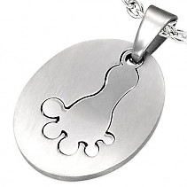 Stainless steel pendant Stainless steel PAC015