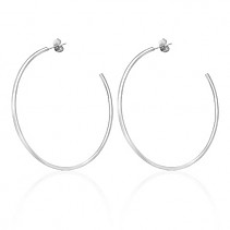 Earrings rings Stainless steel 53 mm