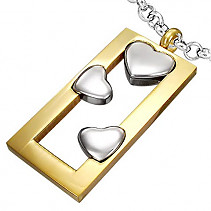 Women's stainless steel pendant Stainless steel PPC176