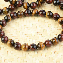 Tiger falcon bull's eye bracelet mix 7-8 mm beads