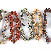 Bracelet chopped 5 pieces - jasper