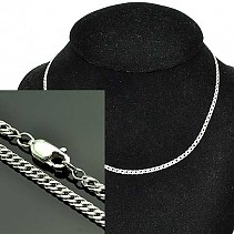 Chain for women silver Ag 925/1000 42 cm 4.5 g