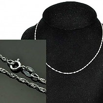 Chain for women silver Ag 925/1000 42 cm 1.5 g