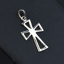 Silver cross pendant smaller Ag 925/1000