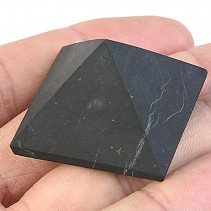 Shungites Pyramid (Russia) 3 cm unpolished