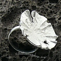 Botanic Collection: silver ring 925/1000 Morning Glory