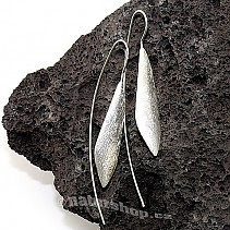 Collection Botanic silver earrings 925/1000