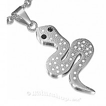 Pendant surgical steel snake