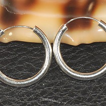 Rings earrings silver 925/1000 25 mm
