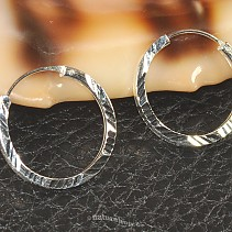 Decorated rings silver 925/1000 20 mm