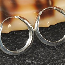 Strong rings silver 925/1000 25 mm