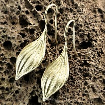Collection Botanic earrings silver 925/1000 ticket