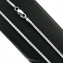 Silver chain for pendant Ag 925/1000 45 cm 5.2 g
