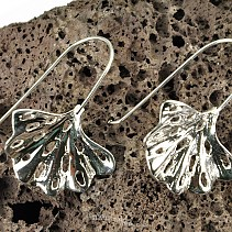Botanic Collection earrings silver Ag 925/1000 ginko