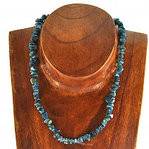 Blue Apatite Necklace 45cm