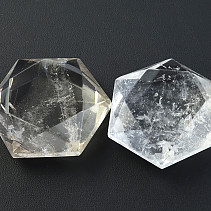 Hexagon crystal cut 45 x 45 mm