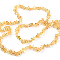 Citrine necklace - 60 cm