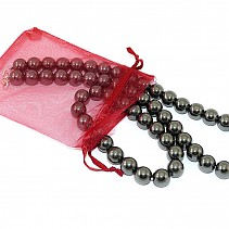 Gift Set hematite jewelry beads 12 mm