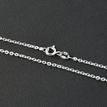 Chain silver Ag 925/1000 42 centimeters about 3.15 g