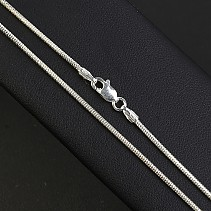 Silver snake chain 55 cm approx 3.9 g Ag 925/1000