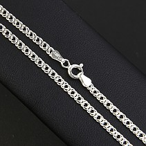 Silver Ring 55 cm chain approx 6.5 g Ag 925/1000
