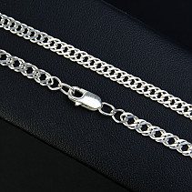 Silver chain with her newborn 42 cm approx 6.8 g Ag 925/1000