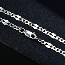 Silver chain with her newborn 42 cm approx 5.6 g Ag 925/1000