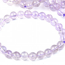 Light amethyst bracelet beads 8.5 mm
