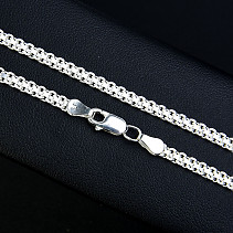Silver chain 45 cm approx 6.3 g Ag 925/1000