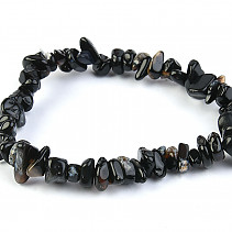 Agate sardonyx bracelet chopped shapes